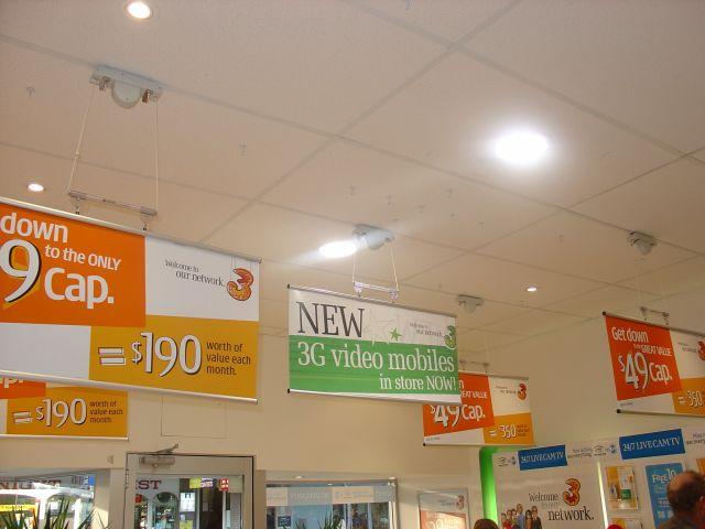 Hanging Signs - Orange