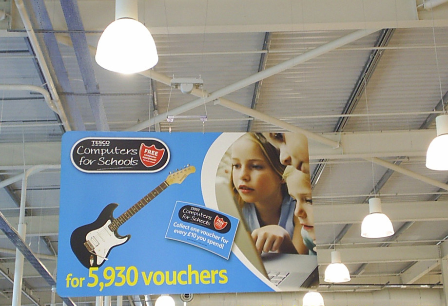 Retail Signs - Tesco 2