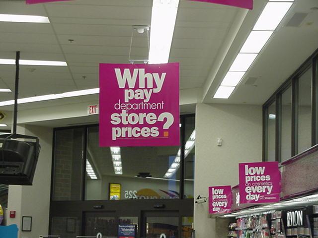Retail Signs - Walgreens