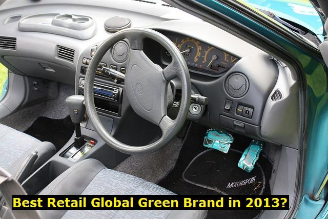 best retail global green brand