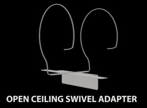 open ceiling swivel adapter 1