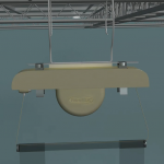 Retractable signage products - Open ceiling swivel adapter 2