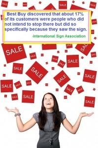 retail sale happy customer