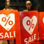 retail signs - sale red