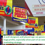 Retail Signs - Sales and Marketing