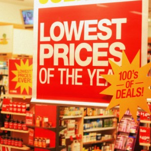 store signs sale