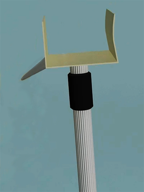 Retractable signage products - Telescoping pole 1